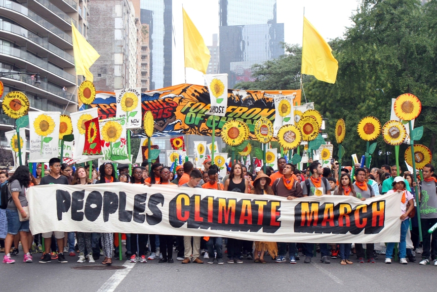 People's Climate March, 092114