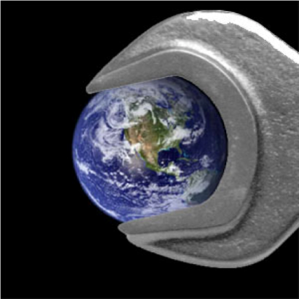 Earth as geoengineering object