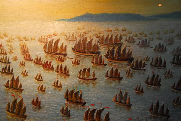 Zheng He's fleet 1