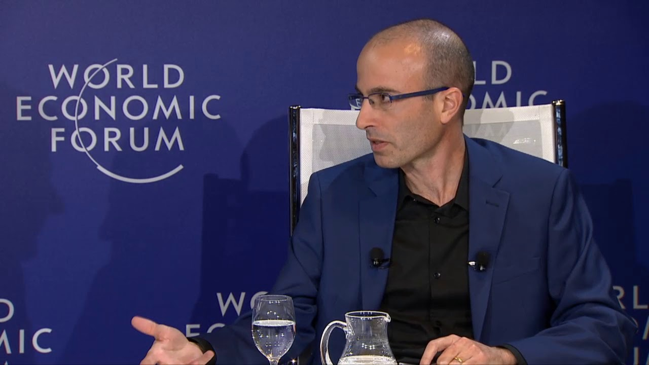 Harari at World Economic Forum